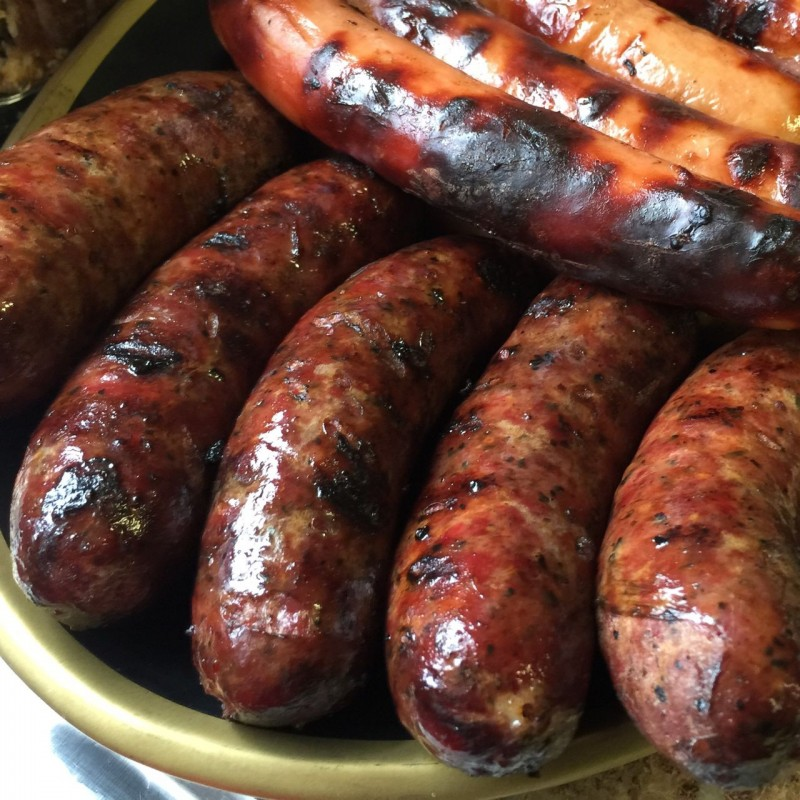 Smoked Duck Hot Links